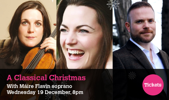 A Classical Christmas with Máire Flavin - Wednesday 19 December 8pm 2018 - Sean Hollywood Arts Centre