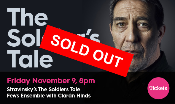 Fews Ensemble with Ciarán Hinds - Friday November 9, 2018 - 8pm Warrenpoint Town Hall, Warrenpoint