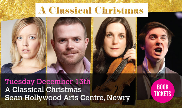 Newry Chamber Music presents A Classical Christmas Tuesday 13th December 2016