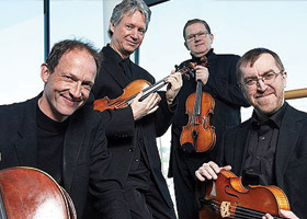 Newry Chamber Music presents the RTÉ Vanbrugh Quartet Thursday 21st November 2013
