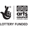 Arts Council Northern Ireland Lottery Funded logo